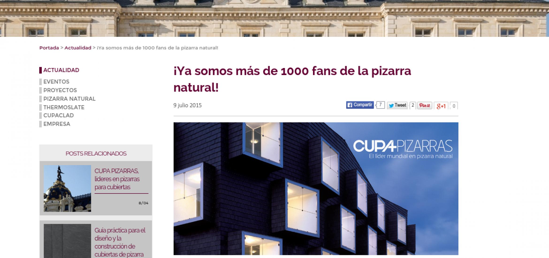 Blog CUPA PIZARRAS: Post