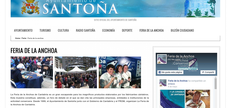 Ayuntamiento de Santoña: Sección