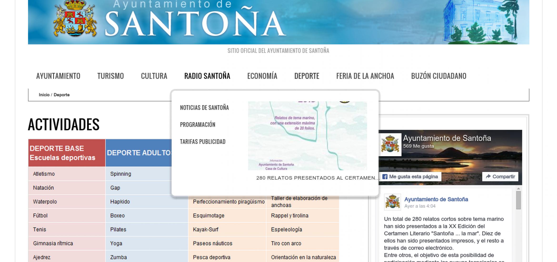 Ayuntamiento de Santoña: Actividades